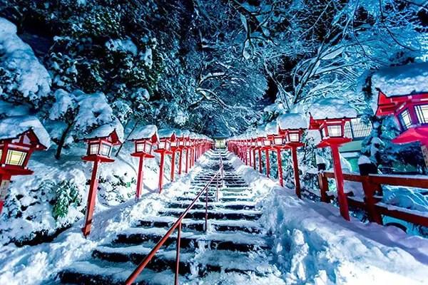 Kyoto in de sneeuw - 1