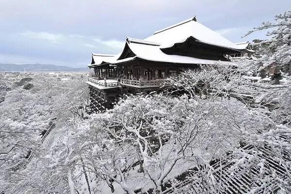 Kyoto in de sneeuw - 7