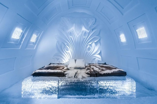 Ice hotel kunstsuite 1