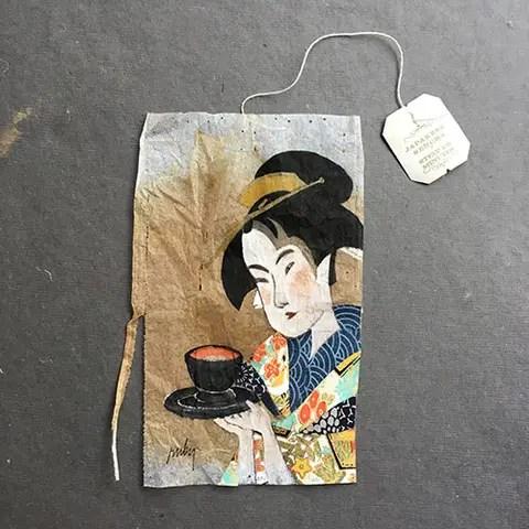 Teabag stories - Japan
