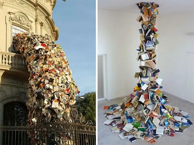 boek uit plafond