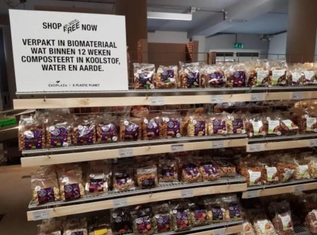 Biologische supermarkt