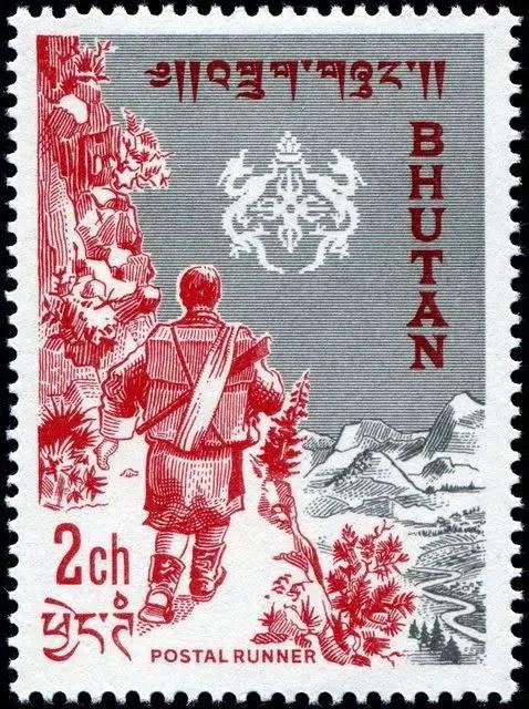 Postzegels Bhutan 16