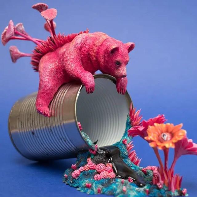 Kunstenares Stephanie Kilgast afval 5