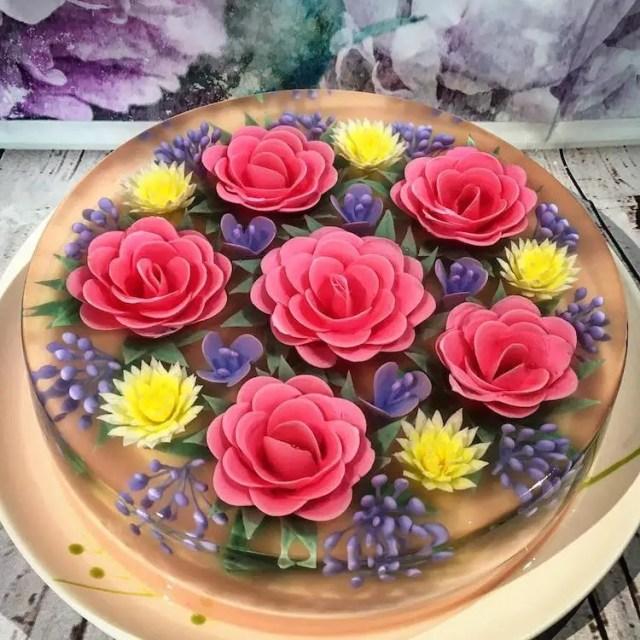 taarten met bloemen 1