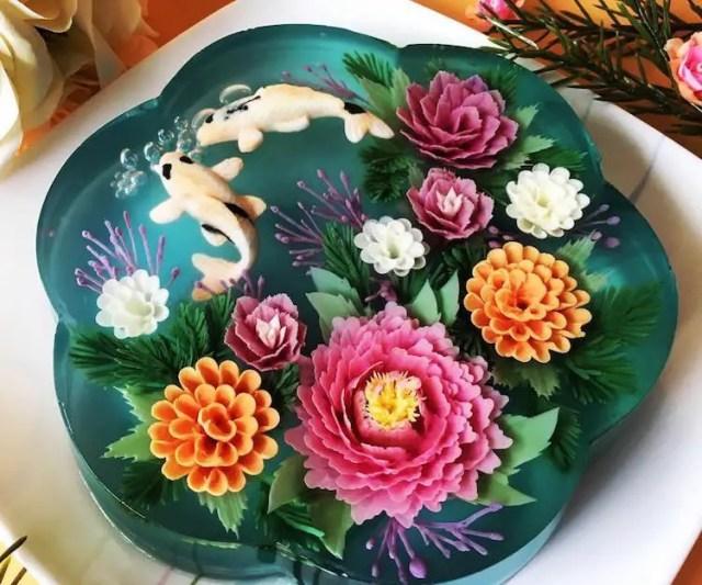 taarten met bloemen 5