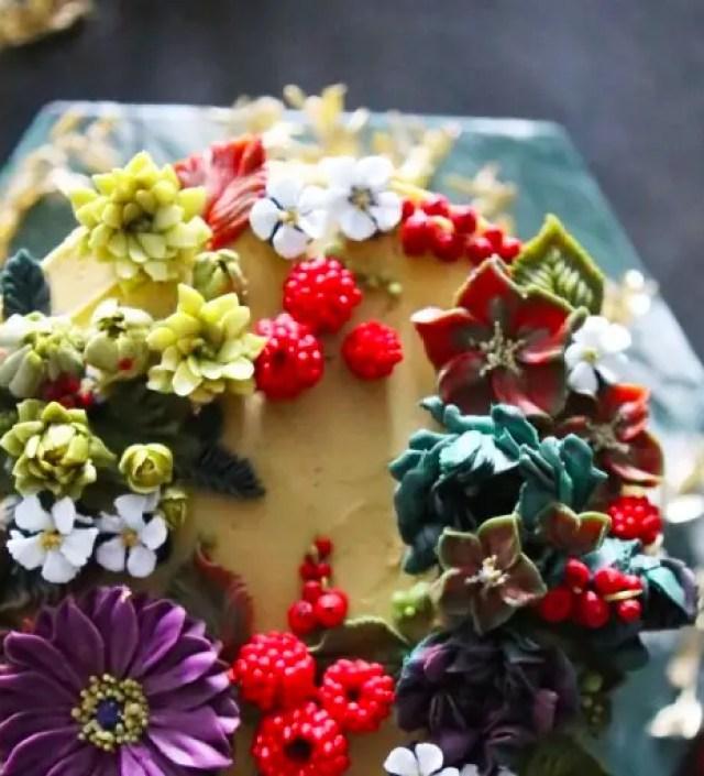 9 keer prachtige bloementaarten die eigenlijk te mooi zijn om op te eten
