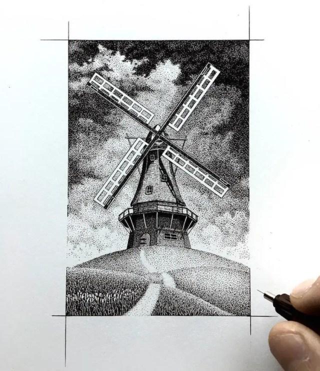 pointillisme