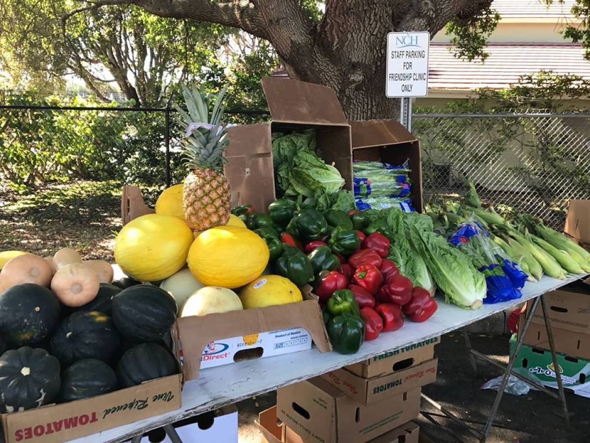 Nch Produce Market At Nch Central Campus Naples Marco