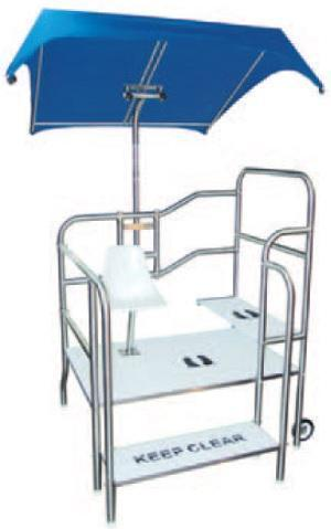 paragon lifeguard chairs kmart beach platforms griff elevated step platform