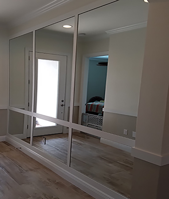 Mirrored Walls by Paradise Glass and Mirror in Marco Island FL
