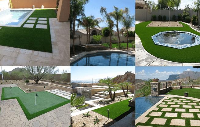 Arizona Landscaping Design Ideas For Artificial Grass