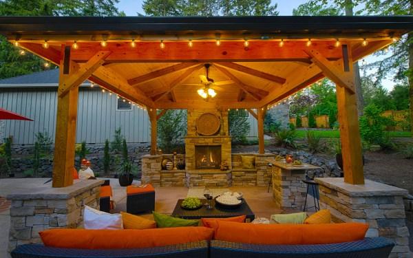 gazebos in outdoor living spaces