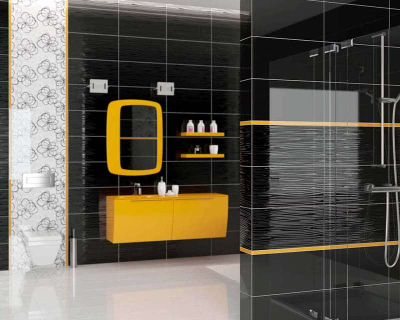 Dark Bathroom 5 Inspirations Which Will Convince You To This Non Standard Solution