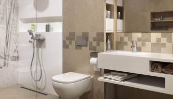 aranzacja-jasnej-łazienki-z-prysznicem-optimal-ceramika-paradyz