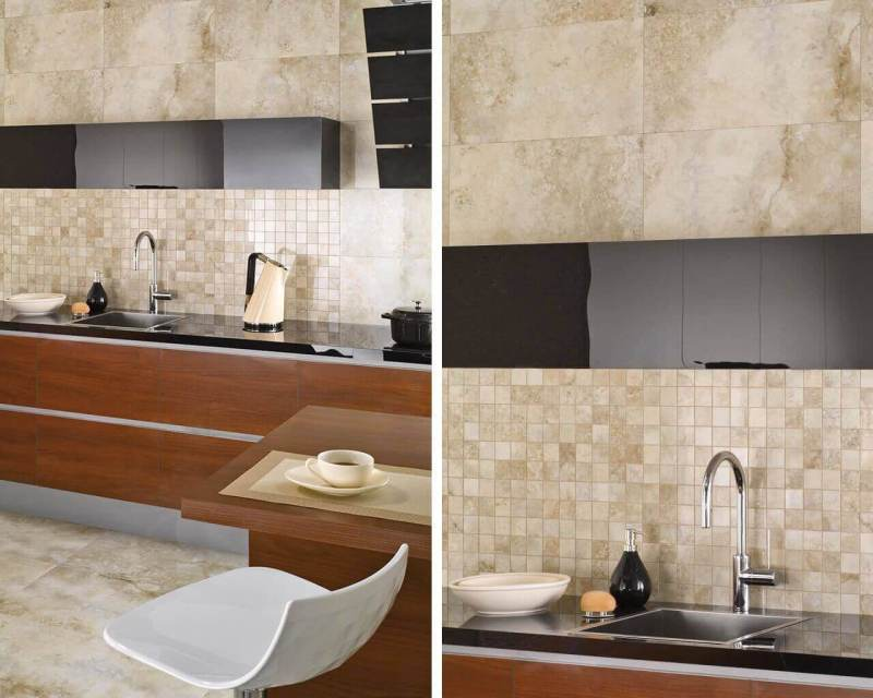Contemporary, exclusive classic style loves the nobility of marble, natural dark wood, and perfect detail.