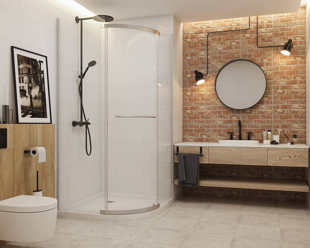 How to choose tiles for the bathroom? 10 most popular solutions!