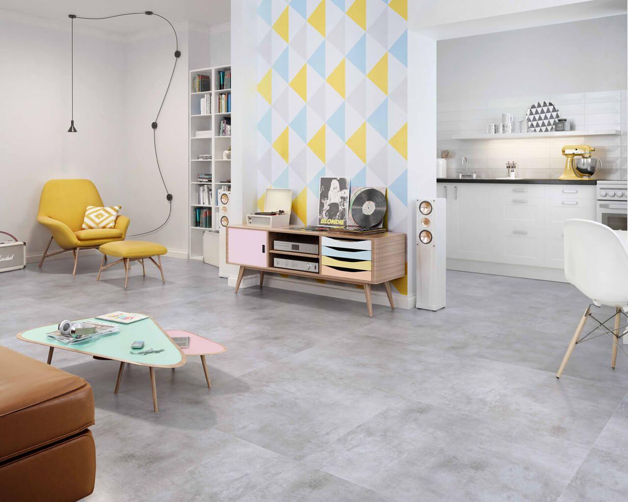 "Design Salon In ""concrete"" Gray Ceramika Paradyz"