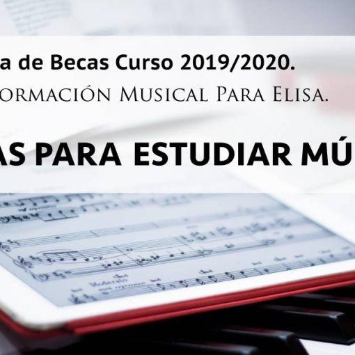 Becas Para Elisa Escuela de Música