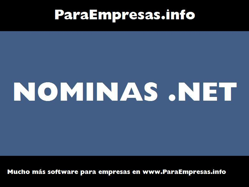 nominas .net