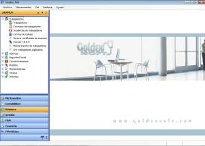 pantalla principal del programa