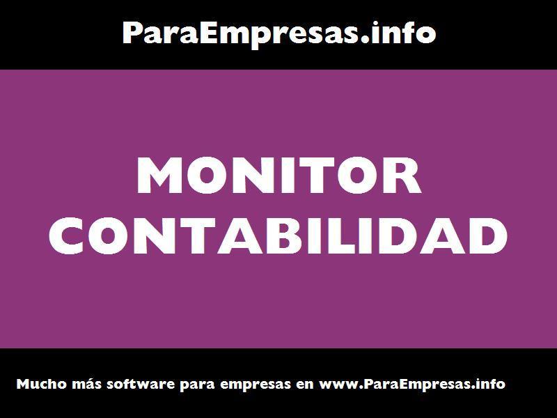 monitor contabilidad