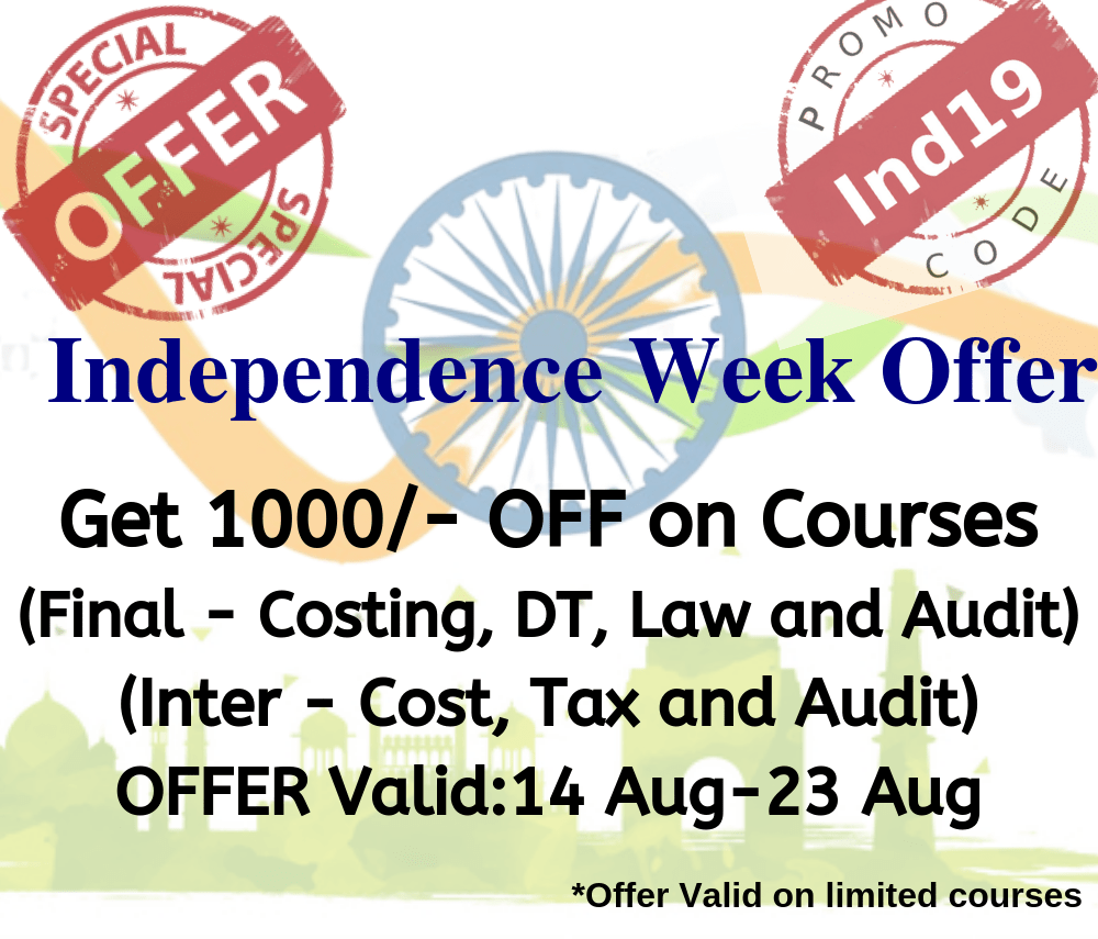 CA Courses Offers