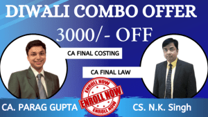 CA Final Costing & Law (Old)
