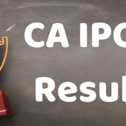 CA IPCC Result