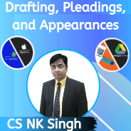 CS Professional- Drafting, Pleadings, and Appearances