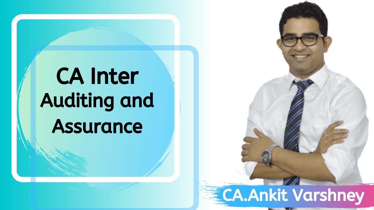 CA Inter Audit and Assurance