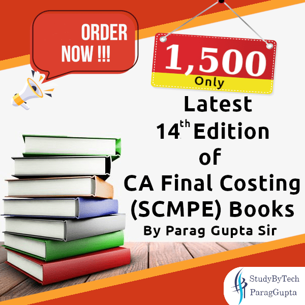 CA Final Costing online books for scmpe