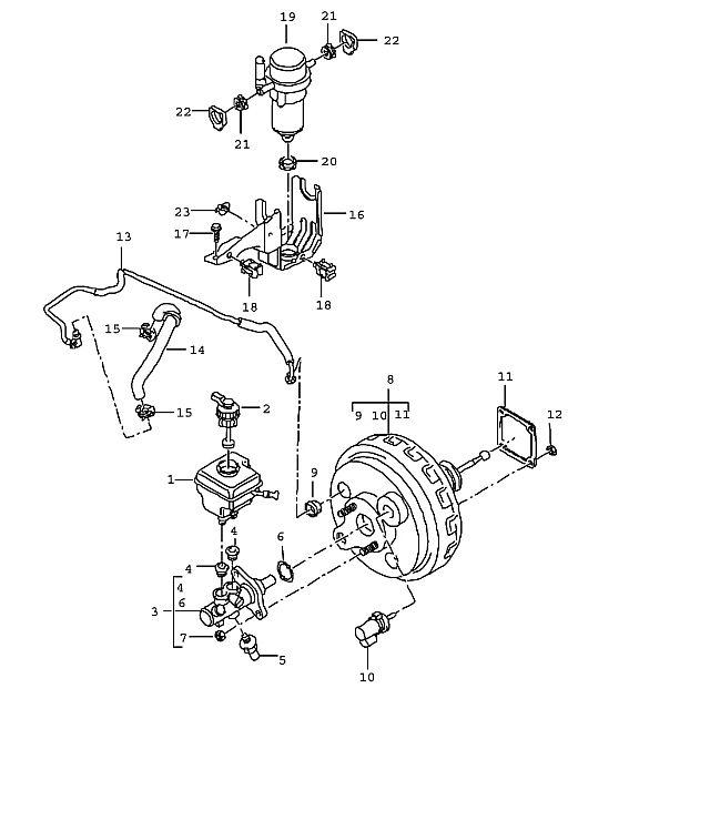 Porsche Cayenne Brake Booster