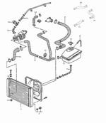 Porsche 968 Cooling Hose Diagram.