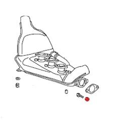 Hexagon Nut 10mm Exhaust