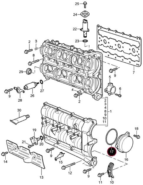 Cylinder Head Plug O-Ring