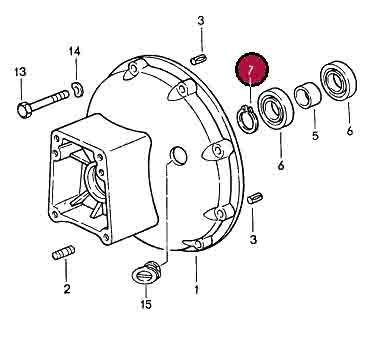 Circlip 10x1.75mm for Torque Converter