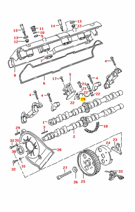 Porsche 944s and 944S2 J-Tube for Cam Chain Tensioner