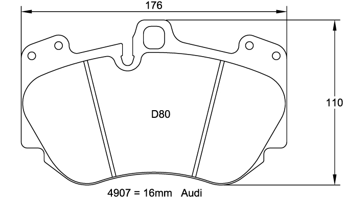 Pagid Racing Brake Pads