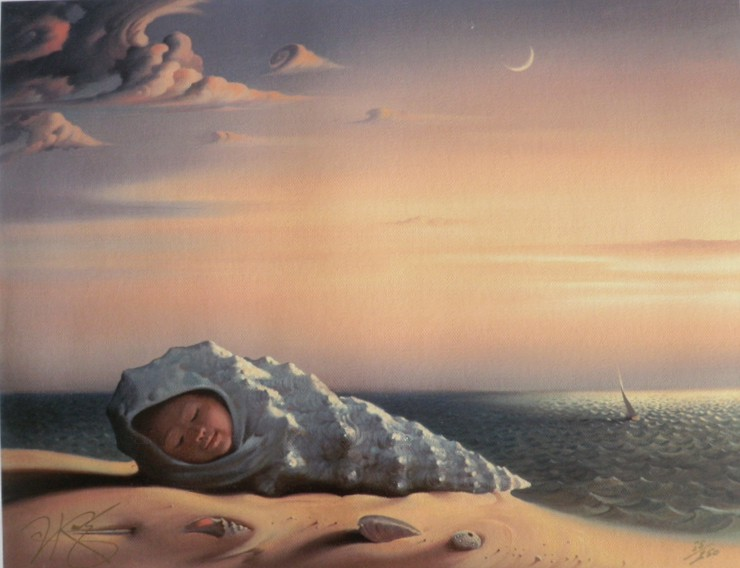 BORN FROM THE SEA<br />