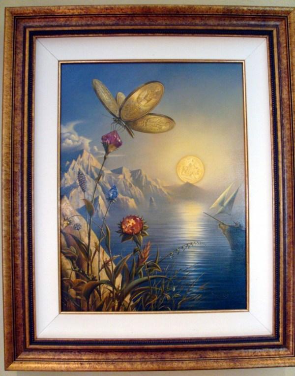 Vladimir Kush - Treasure Island Original Painting