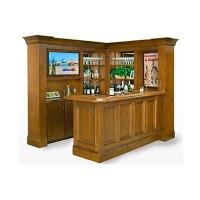 Custom Home Bar With Hideaway TV | Custom Furniture Toronto