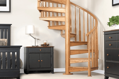 Wood Staircases Straight Spiral Paragon Stairs   Building A Spiral Staircase Wood   Attic Stairs   Staircase Ideas   Outdoor Spiral   Curved Staircase Design   Attic Ladder