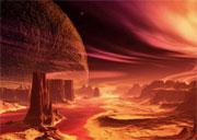Arakis - arte conceitual do planeta