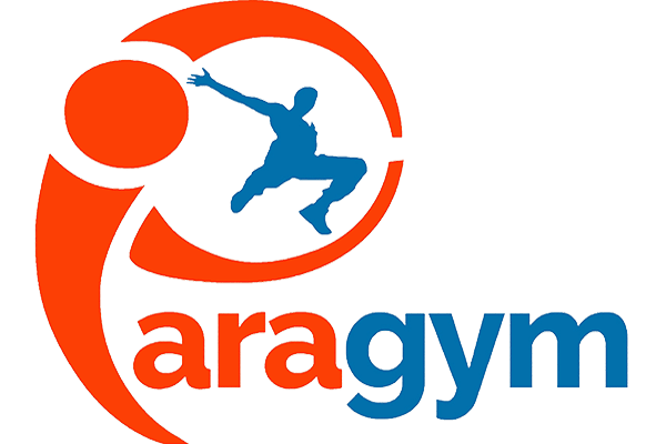 Paragym; Paradise of Play! Logo