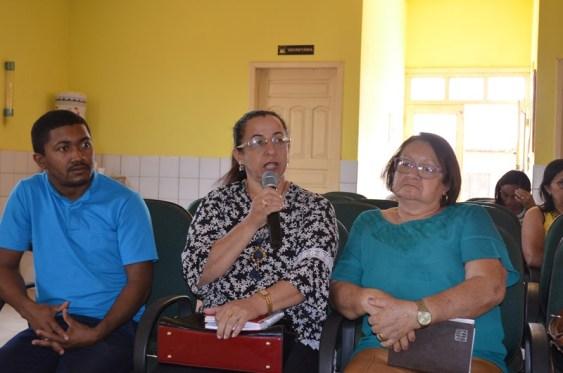 Padre Iran, Doralina e Graça Campos.