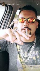 Em desafio ao pai filho de Cláudio Lima  posta no Instagram fotos consumindo drogas