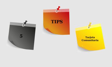 5 tips para tramitar tu Tarjeta comunitaria
