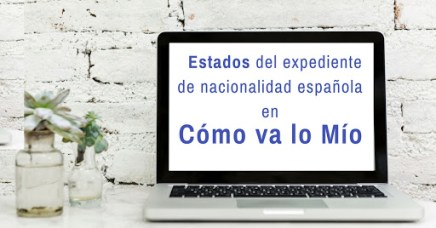 estados del expediente de nacionalidad española