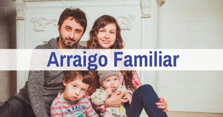 arraigo familiar